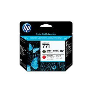 その他 【純正品】 HP CE017A HP771 プリントヘッド マットブラック/クロムレッド(MBK/クロムR) ds-2081917