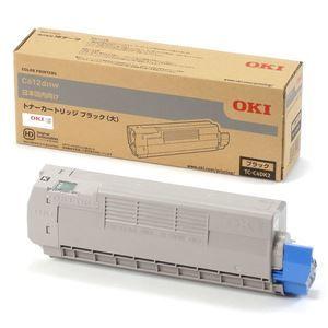 その他 (業務用3セット) 【純正品】 OKI TC-C4DK2 トナーカートリッジ ブラック 大 ds-2081970