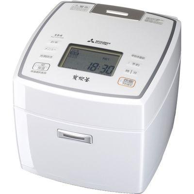 三菱電機 5.5合 炊飯電子ジャー備長炭 炭炊釜(ピュアホワイト) NJ-VV109-W