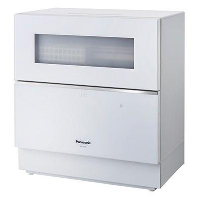 パナソニック 「ナノイー X」搭載の卓上型食器洗い乾燥機(シルバー) NP-TZ100-S