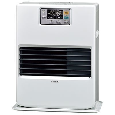 コロナ FF温風式暖房機 VGシリーズ 標準タイプカートリッジタンク式【木造11畳/コンクリート18畳】 FF-VG42YA-W