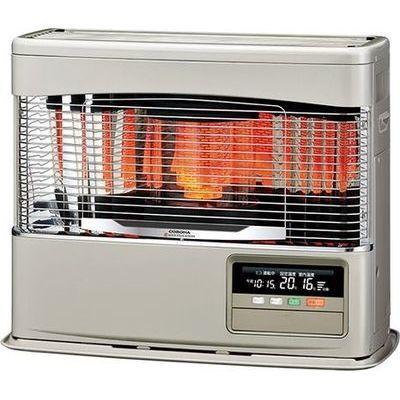 コロナ スピード点火・消火・再点火を実現したクイックパルスバーナー搭載。パワフルで快適な暖房。PKシリーズ<別置タンク式(別売)>【暖房のめやす:木造18畳/コンクリート28畳】 FF-6818PK-N