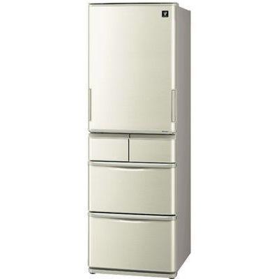 シャープ 412L 5ドア 冷蔵庫 どっちもドア SJ-W411E-N【納期目安:1ヶ月】
