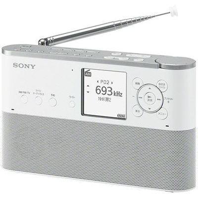 ソニー ポータブルラジオレコーダー ICZ-R260TV