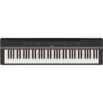 ヤマハ 電子ピアノ ブラック P-121-B【納期目安:約10営業日】