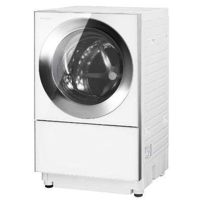 パナソニック ななめドラム式洗濯乾燥機 「Cuble(キューブル)」 (洗濯10.0kg /乾燥5.0kg・左開き) シルバーステンレス NA-VG1300L-S【納期目安:2週間】