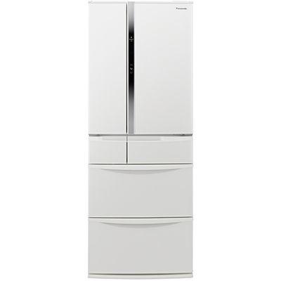 パナソニック 6ドア冷蔵庫(451L・フレンチドア) ハーモニーホワイト NR-FVF454-W【納期目安:2週間】