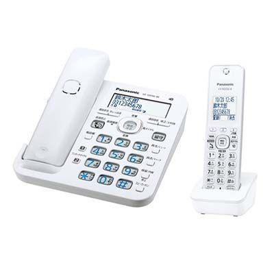 パナソニック RU・RU・RU コードレス電話機 (子機1台付き) (ホワイト) VE-GD56DL-W