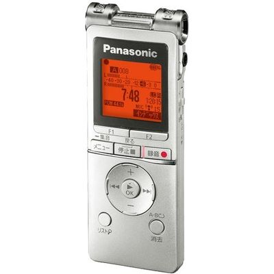パナソニック ICレコーダー シルバー RR-XS470-S 1台入 4549980002216【納期目安:2週間】