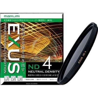 マルミ光機 マルミ EXUS ND4 減光フィルター 光量調節用 72mm 1コ入 4957638140126【納期目安:2週間】