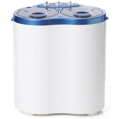 ベルソス 2槽式洗濯機 極洗(ブルー) VS-H016