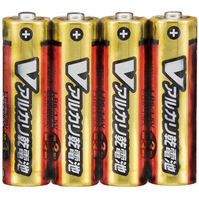 その他 【200個セット】アルカリ単三乾電池4本組 2214014