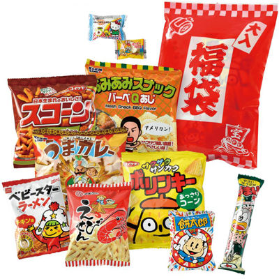 その他 【30個セット】福袋たっぷりお菓子10点セット 2474850