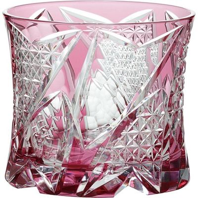東洋佐々木ガラス オンザロックグラス 八千代切子 光華 LS19761SAU-C741 1コ入 4906678187806【納期目安:2週間】