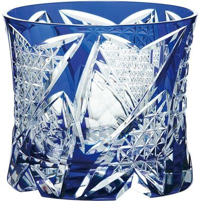 東洋佐々木ガラス オンザロックグラス 八千代切子 光華 LS19761SULM-C741 1コ入 4906678189299【納期目安:2週間】