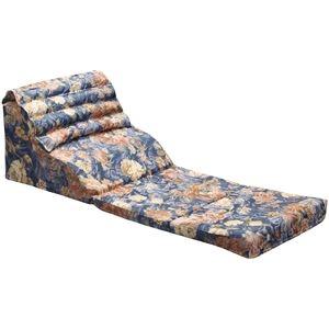その他 くつろぎテレビ枕/寝具 【幅45cm 】 日本製 折りたたみ 通気性 綿使用 高さ調整 背中・腰サポート機能 〔リビング〕 ds-2085070