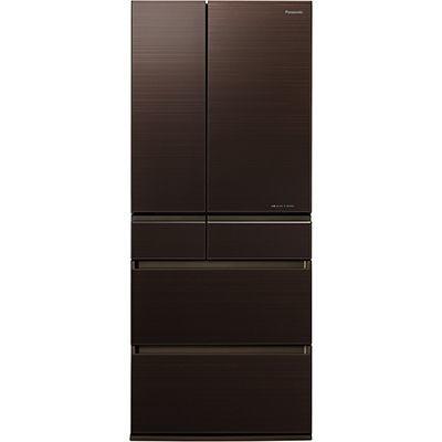 パナソニック 650L 6ドア フレンチドア冷蔵庫 (マチュアダークブラウン) NR-F654HPX-T【納期目安:11/中旬発売予定】