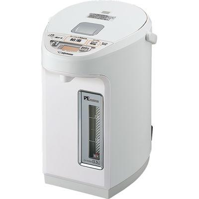 象印 3.0L マイコン沸とうVE電気まほうびん 優湯生(ゆうとうせい)(ホワイト) CV-WB30-WA