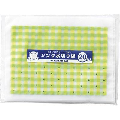 その他 【300個セット】シンク水切り袋20枚入 MRTS-33088