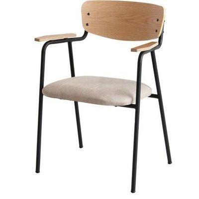 市場(Marche) anthem Arm Chair (ナチュラルベージュ) ANC-2836-NABE