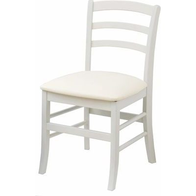 市場(Marche) ine reno chair (vary) (ホワイト) INC-2821-WH