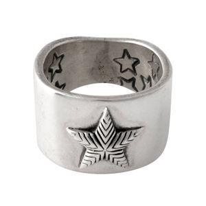 その他 CODY SANDERSON(コディサンダーソン)C2-01-011-9.5 プレーンスター リング 指輪 US9.5 (日本サイズ19号相当) Plain star ring 0.5in【代引不可】 ds-2091155