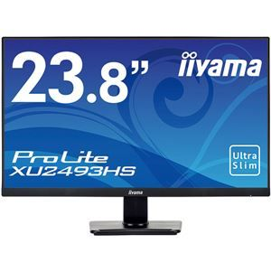 その他 iiyama 23.8型ワイド液晶ディスプレイ ProLite XU2493HS(ADS/フルHD/D-SUB/HDMI/DP) マーベルブラック ds-2092853