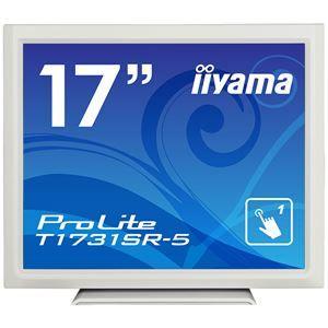 その他 iiyama 17型タッチパネル液晶ディスプレイ ProLite T1731SR-5(抵抗膜方式/USB通信/シングルタッチ/防塵防滴/D-SUB/HDMI/DP) ホワイト T1731SR-W5 ds-2092773
