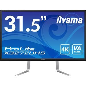 その他 iiyama 31.5型ワイド液晶ディスプレイ ProLite X3272UHS(VA/4K2K/DP/HDMI×2/PIP機能/PBP機能/10bitカラー対応) ブラック ds-2092881