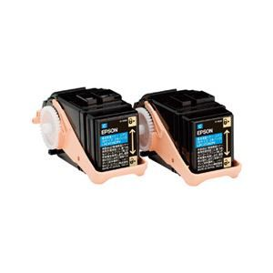 その他 エプソン LP-S7160シリーズ用環境推進トナー/シアン/Mサイズ2本パック(5300ページ×2本) LPC3T33CPV ds-2093570