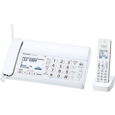 パナソニック デジタルコードレス普通紙ファクス(子機1台付き)ホワイト KX-PD215DL-W