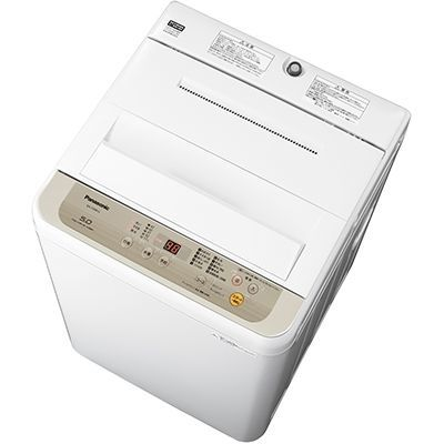 パナソニック 全自動洗濯機 5kg シャンパン NA-F50B12-N【納期目安:2週間】