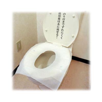 富士パックス販売 【80個セット】ずれない便座シート70枚入り h933