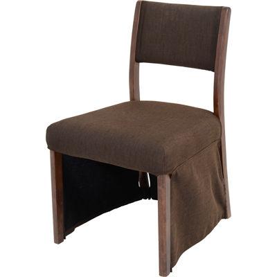 ユアサプライムス 【2個セット】 高脚こたつ用椅子約46.5x53.5x78 CDC-010F