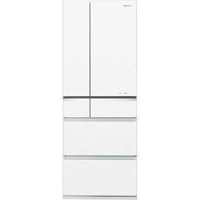 パナソニック 501Lパーシャル搭載冷蔵庫スノーホワイト NR-F504GV-W