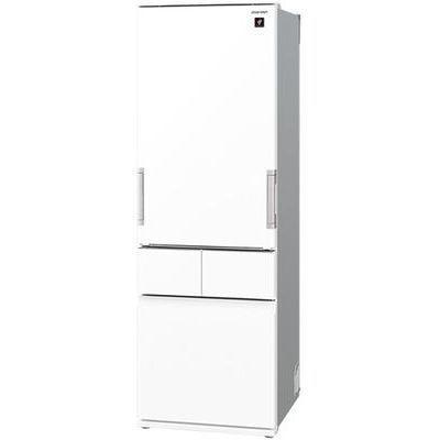 シャープ 415L 4ドア冷蔵庫 どっちもドア (ピュアホワイト) SJ-GT42E-W【納期目安:約10営業日】