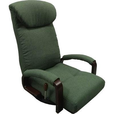 ヤマソロ 曲げ木肘付回転座椅子【松風-まつかぜ-】(ブリーン) 83-871