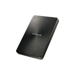 その他 IOデータ USB 3.0/2.0対応 ポータブルハードディスク「カクうす」 2.0TB ブラック HDPX-UTA2.0K ds-2106259