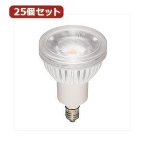 その他 YAZAWA 25個セット 光漏れタイプハロゲン形LED電球 LDR4NWE11X25 ds-2109003
