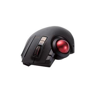 その他 エレコム トラックボールマウス/親指/8ボタン/チルト機能/有線/無線/Bluetooth/1000万回耐久/ブラック M-XPT1MRBK ds-2109568