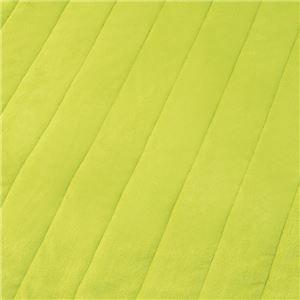 その他 もこもこあったか パーソナルマット/ホットカーペット 【ワイド 200×150cm グリーン】 洗える ダニ退治機能 日本製 ds-2110170