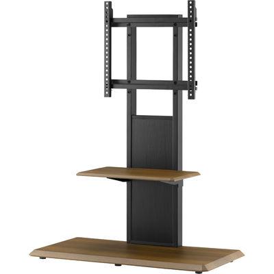 朝日木材加工 棚付き壁寄せスタンド〔リバーシブル〕(~65V) AS-WB850【納期目安:1週間】