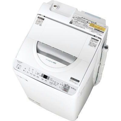 シャープ タテ型洗濯乾燥機 (シルバー系) ES-TX5C-S【納期目安:2週間】