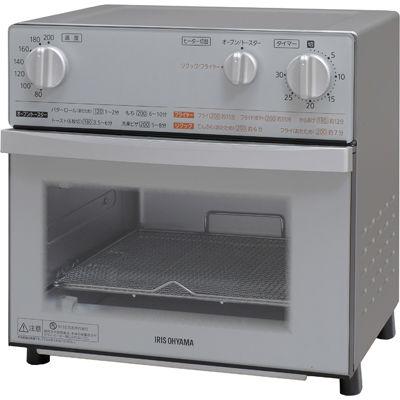アイリスオーヤマ ノンフライ熱風オーブン(シルバー) FVX-D3B-S【納期目安:1週間】