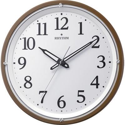 リズム時計 リバライト532 (茶メタリック) 8MY532SR06