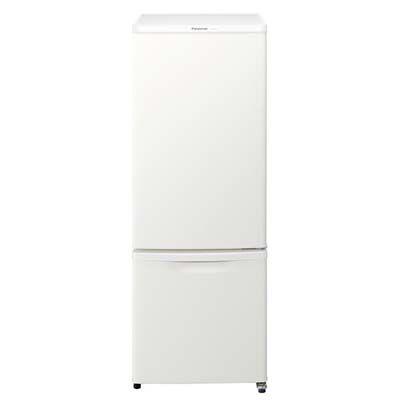 パナソニック 168L 2ドア冷蔵庫 右開き(マットバニラホワイト) NR-B17BW-W