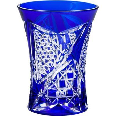 東洋佐々木ガラス 八千代切子 酒器 杯 矢絣柄 LS19758SULM-C688 95mL 4906678179894【納期目安:2週間】