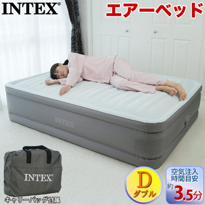 INTEX(インテックス) INTEX エアーベッド プレムエアー ワン ダブル INT-64903