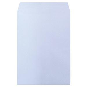 その他 ハート 透けないカラー封筒 テープ付角2 パステルアクア XEP474 1セット(500枚:100枚×5パック) ds-2114869