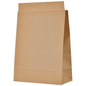 その他 TANOSEE 宅配袋 マチ広 大 茶封かんテープ付 1セット(400枚:100枚×4パック) ds-2114979
